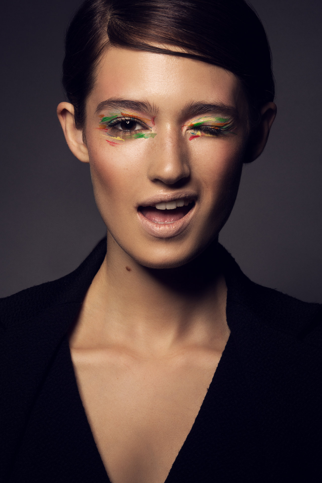 Make-up: Melanie Volkart Photographer: Ellin Anderegg Model: @ Brave Models Milano