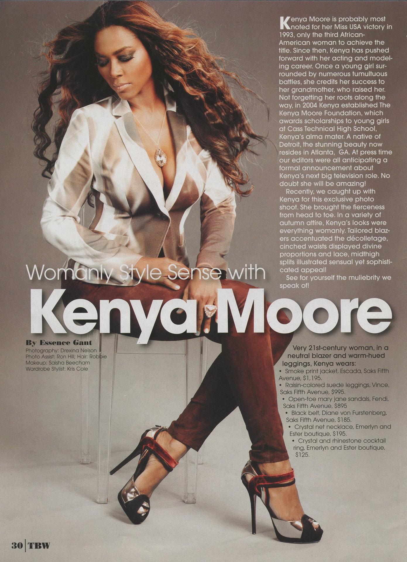 kenya moore pt 2001